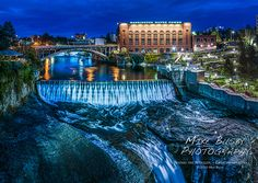 Mike's Spot - Creativity through Exploration: Iconic Spokane - by Mike Busby Photography