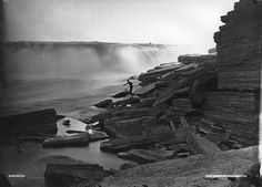 Early landscape photography often borrowed conventions from painting like capturing the picturesqueideals of aesthetic beauty and the sublime. Chaudière Falls by century Canadian photographer (via Dominion Day, Landscape Photography, Nature Photography, Happy Canada Day, Old Photographs, Photos, Celebrity Photographers, Aesthetic Beauty, Landscape Paintings