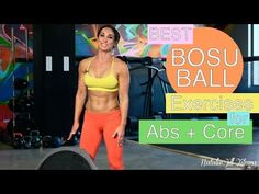 Best Bosu Ball Exercises for Abs and Core