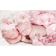 Victorian Elegance Pearls and Feathers Baby Headband