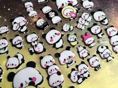 panda sticker cute panda bear Kawaii Panda by StickersKingdom