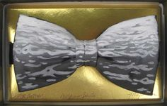 Water bowtie by Jack Kirwan - BOWTIE Bow Ties, Bows, Hand Painted, Water, Artist, Painting, Style, Arches, Gripe Water