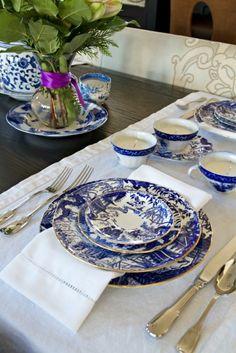 Blue Willow | visit justasmidgen com