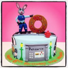 Zootopia theme birthday cake done by Zafiel's cakes