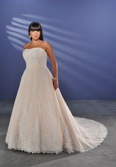 0c8caffb9b9 wedding dresses plus size wedding dresses with color wedding dresses a line  charming plus size applique beads working lace strapless satin chapel train  ...