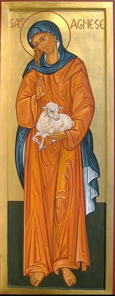 St. Agnes by Domenica Ghidotti