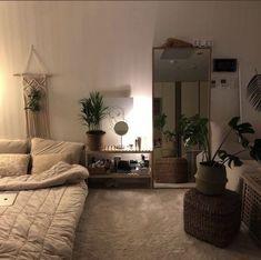 Room Design Bedroom, Small Room Bedroom, Room Ideas Bedroom, Home Bedroom, Bedroom Decor, Ikea Bedroom, Bedroom Furniture, Small Apartment Bedrooms, Small Apartment Decorating