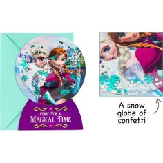 Premium 3D Frozen Invitations 8ct
