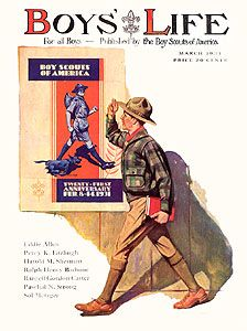 Boy's Life Magazine Covers Boy Scouts, Boys Life Magazine, Creepy Comics, Life Cover, Vintage Boys, Norman Rockwell, Girl Guides, Vintage Comics, Vintage Magazines