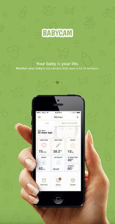 Babycam APP on App Design Served