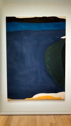 Santorini, 1966. Helen Frankenthaler.                                                                                                                                                      More