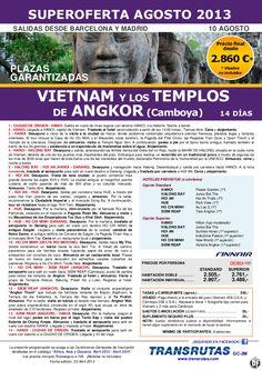 VIETNAM y Templos Angkor /14 días ¡¡Superoferta Plazas Garantizadas: 10 Agosto!! precio desde 2.860€ - http://zocotours.com/vietnam-y-templos-angkor-14-dias-superoferta-plazas-garantizadas-10-agosto-precio-desde-2-860e-3/