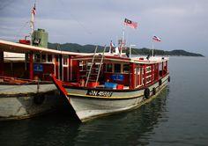 Malaysian passenger boats
