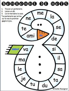 French Teaching Resources, Teaching French, Teaching Spanish, School Resources, Kindergarten Literacy, Kindergarten Activities, Literacy Centers, French Classroom, School Classroom