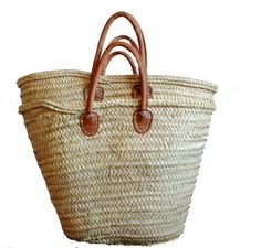 Valencia Straw bag / woven straw bag / Capazo / by Spiralspiral