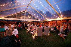 clear-top tent | Allan Zepeda, Jeremie Barlow, Carla Ten Eyck #wedding
