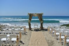 This Oceanside beach wedding rental is perfect for intimate San Diego beach weddings: beach access, patio, reception for 50 people at the house. Book it today!