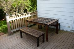 Outdoor Pallets Patio Set