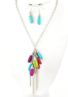 Horizon Necklace & Earring Set