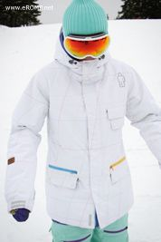 2013 270˚ Spin Jacket - White from rompsnow.com // $159.00