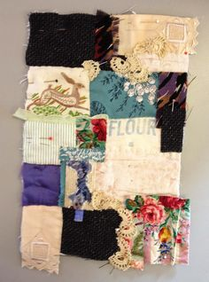 Thread and Thrift: Cornish Collage
