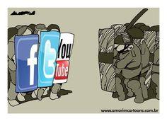 Palestra debate a militância política através das redes sociais, nesta segunda-feira, dia 2, no auditório do Sinttel, às 19h.