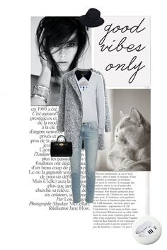Good Vibes Only by doris-knezevic on Polyvore featuring polyvore, fashion, style, Edit, Frame Denim, adidas Originals, Mulberry, rag & bone, Pure Home and Seed Design