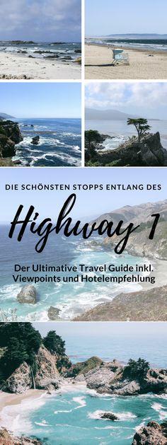 Highway 1 - Entlang der schönsten Küstenstraße der Welt nach L.A. Reisebericht von San Francisco nach Los Angeles mit vielen Bilder, Reisetipps und Hotelempfehlungen.