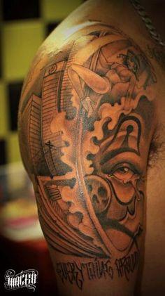 Tattoo by Antonio Macko Todisco at Milano City Ink in Milan, Italy