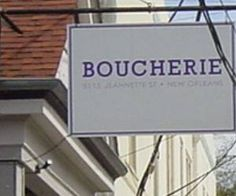boucherie new orleans (Google Search)