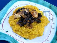 pumpkin & polenta