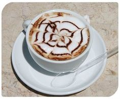 Nothing beats a good cup of #coffee; and it seems that baristas are getting in on the act of 'latte art'