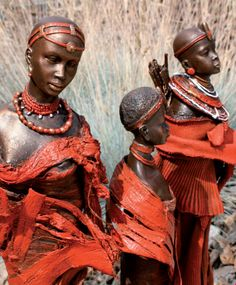 Powertex • Great to make. For the USA :the plaster figures ,used as a base, to find at www,powertexcreations.com