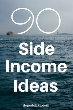 If you are looking to make extra money on the side, here are 90 ways to make side income fast. Some of these extra money ideas will pocket you hundreds of dollars per day!