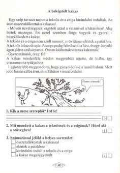 Olvasás és szövegértés fejlesztő feladatok 2.osztályosoknak - Katus Csepeli - Picasa Webalbumok Hidden Pictures, Grammar, Worksheets, Photoshop, Album, Signs, School, Dyslexia, Hidden Images