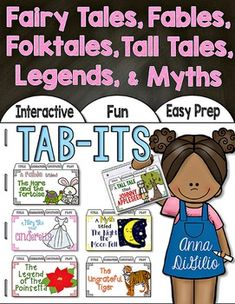 Fairy Tales Folktales Fables Myths Legends and Tall Tales 3rd Grade Books, 3rd Grade Reading, Reading Genres, Reading Comprehension, Guided Reading, Traditional Literature, Close Reading Strategies, Genre Study, Small Group Reading