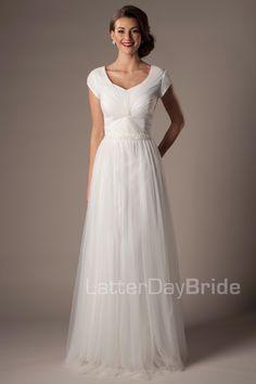 middleton - Modest Wedding Dress