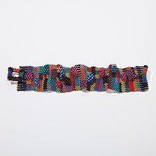 Diy Beaded Bracelets, Making Bracelets With Beads, Fabric Bracelets, Jewelry Making Beads, Handmade Bracelets, Bead Jewellery, Beaded Jewelry, Jewelry Necklaces, Julie Powell
