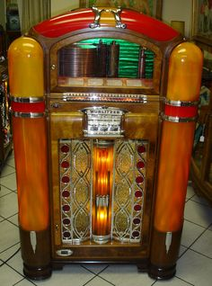 Art deco juke box slot machine, music machine, vending machine, antique r. Radios, Vending Machine, Slot Machine, Jukebox, Arcade, Rock And Roll, Retro, Music Machine, Las Vegas