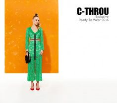 C-THROU Exclusive Campaign Ready-To-Wear SS16 Women's clothing Ready-to-Wear  Made in Greece C-THROU Spring 2016 Ready-to-Wear Collection C-THROU Ready-to-Wear MADE IN GREECE Accessories #fashioneditorial #fashion #campaigns #ss16