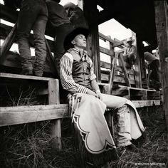 Wouter Deruytter - Cowboy Code Three Forks, MT, 1997