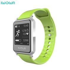 iWown i7 Smart Watch Bracelet Wrist Band Bluetooth 4.0 Touch Screen Fitness Tracker Health Wristband Sports Heart Rate Monitor
