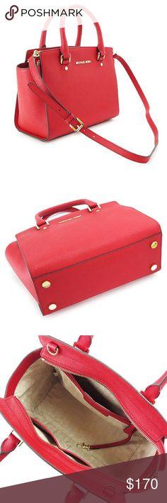 Michael Kors Selma medium red bag New without tag Michael Kors Bags Crossbody Bags