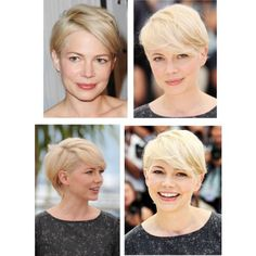 My inspiration to cut my hair short!