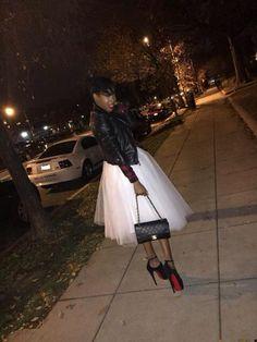 #Stylebyelle #Tutu #WhiteTutuSkirt #StreetFashion #StreetStyle #Style #Fashion #ChanelBag #Chanel #FashionInspiration #StyleInspiration #Inspiration #BlackLeatherJacket @stylebyelle