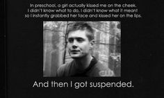 A little story from Jensen Ackles....[GIF] -- Ha