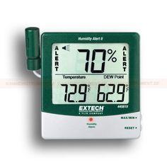 http://termometer.dk/luftfugtmaler-r13208/fugt-detector-display-med-big-numbers-53-445815-r13221  Fugt Detector, Display med Big Numbers  % RH akustisk og visuel alarm alarm, når luftfugtigheden overstiger indstillet grænse  Viser temperatur Dew point  Max / Min med inddrivelse  Fugtighed: 10 til 99%  temperatur: 14-140 Garanti: 2 År