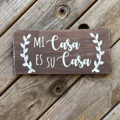 Wood Crafts, Diy And Crafts, Hispanic Art, Spanish Style Homes, Mediterranean Home Decor, Home Wallpaper, Trendy Home, Bars For Home, Wooden Signs