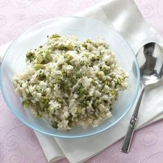 Lemon Risotto with Broccoli Recipe  #Healthy Cooking TOH