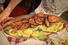 Pesce alla griglia, squisito! La gastronomia Serba regala davvero grandi sorprese...